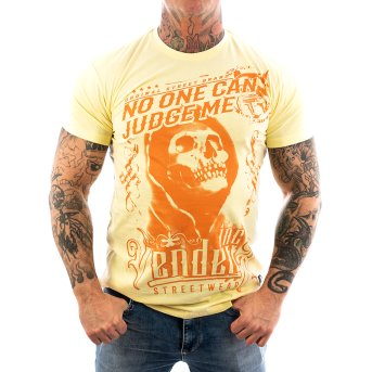Vendetta Inc. Shirt Judge Me pale VD-1085 S