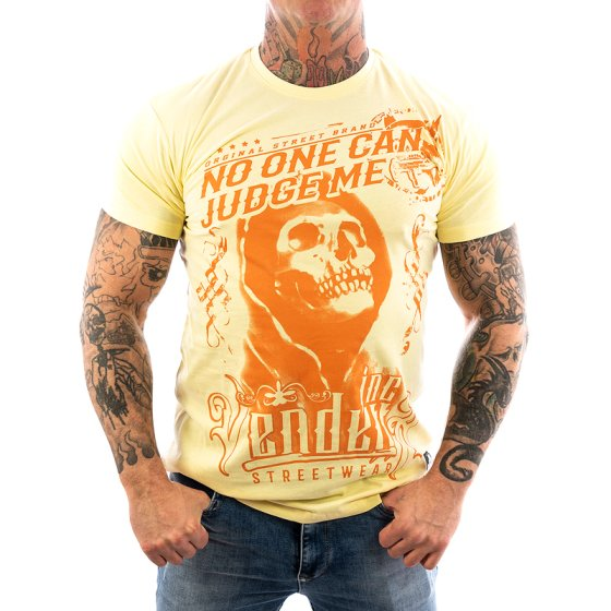 Vendetta Inc. Shirt Judge Me pale VD-1085 3XL