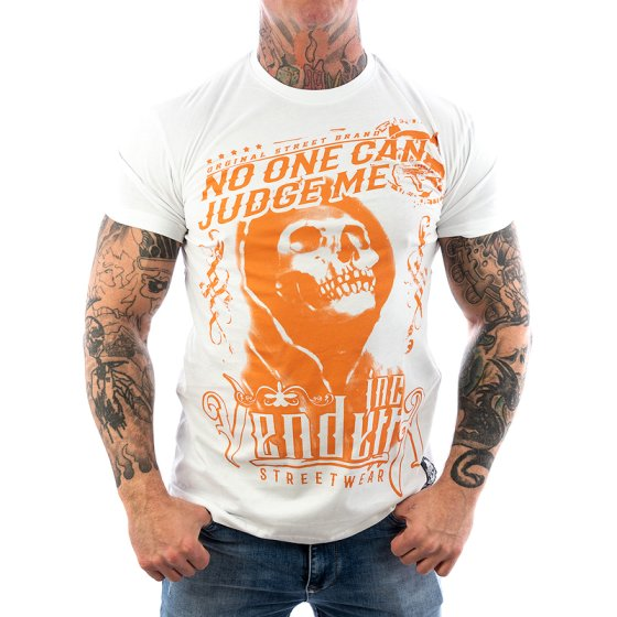 Vendetta Inc. Shirt Judge Me white VD-1085