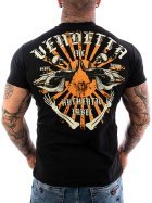Vendetta Inc. Shirt Skull Bones black VD-1088 4XL