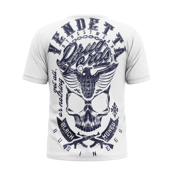 Vendetta Inc. Shirt Black Money white