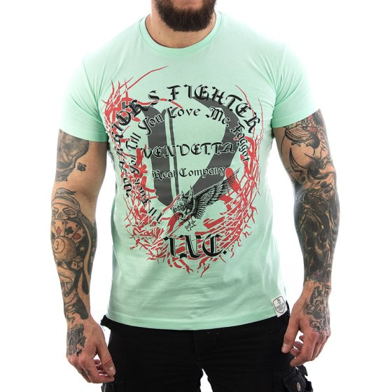 Vendetta Inc. Shirt Company green water VD-1097 XXL