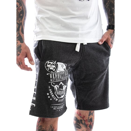Vendetta Inc. Short Streetwear anthrazit S