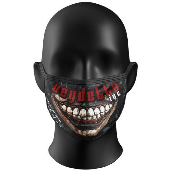 Vendetta Inc Mask Two Face black