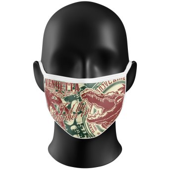 Vendetta Inc Mask Two Face multi