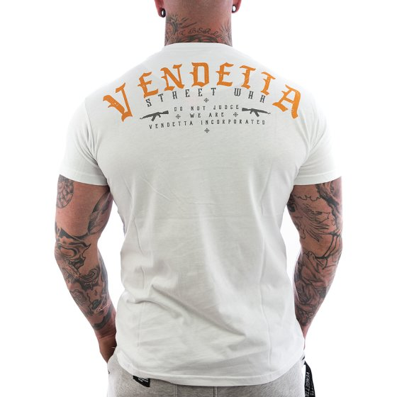 Vendetta Inc. Judge Shirt white