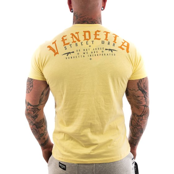 Vendetta Inc. Judge Shirt hellgelb S