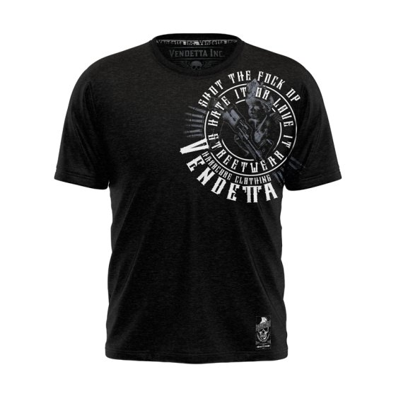 Vendetta Inc. Streetwear Shut Shirt black