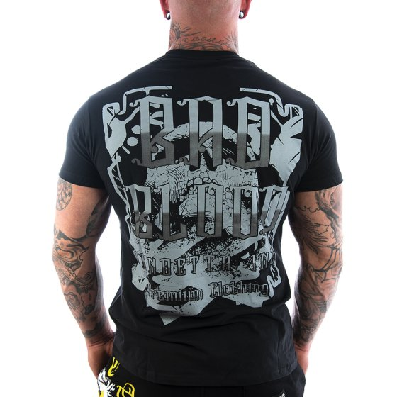 Vendetta Inc. Streetwear Bad Blood Men Shirt black