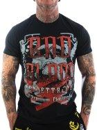 Vendetta Inc. Streetwear Bad Blood Men Shirt black