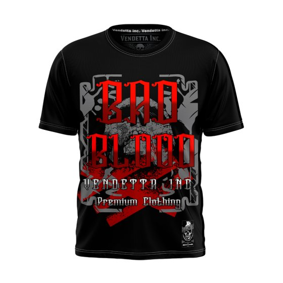 Vendetta Inc Bad Blood Shirt schwarz L