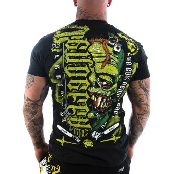 Vendetta Inc. Evil Mask Shirt schwarz S