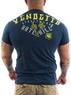 Vendetta Inc. Hate & Kill Shirt dark blue