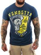 Vendetta Inc. Hate & Kill Shirt dark blue L