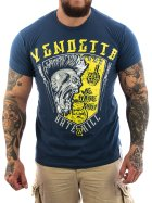 Vendetta Inc. Hate & Kill Shirt dunkelblau 5XL