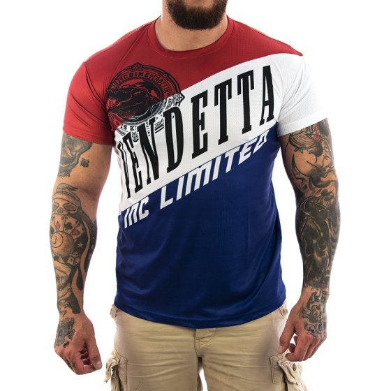 Vendetta Inc. Sport Limited Shirt blau M