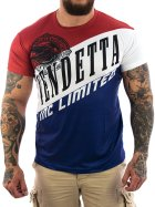 Vendetta Inc. Sport Limited Shirt blau 3XL