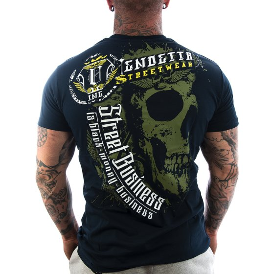 Vendetta Inc. Shirt Money 1113 dark navy