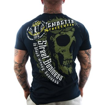 Vendetta Inc. Shirt Money 1113 dark navy S