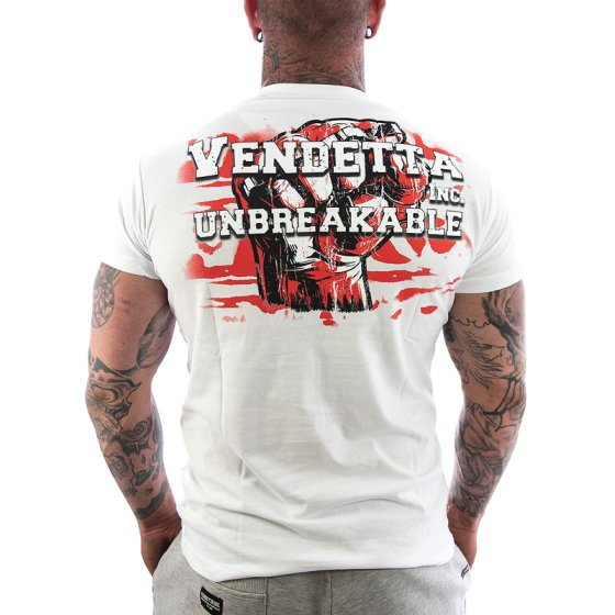 Vendetta Inc. Shirt Unbreakable 1055 weiß XXL