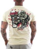 Vendetta Inc. Shirt Team MMA 1115 bone white
