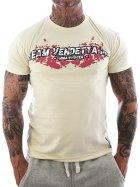 Vendetta Inc. Shirt Team MMA bone white XL