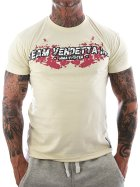 Vendetta Inc. Shirt Team MMA bone white 3XL