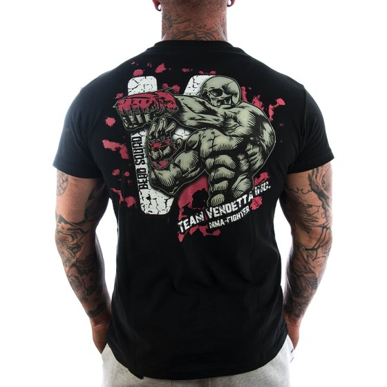 Vendetta Inc. Shirt Team MMA 1115 schwarz