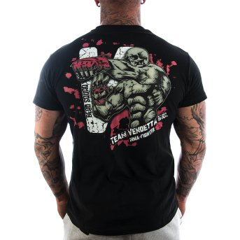 Vendetta Inc. Shirt Team MMA 1115 schwarz S