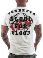 Vendetta Inc. Shirt Blood weiß M