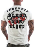 Vendetta Inc. Shirt Blood weiß 5XL