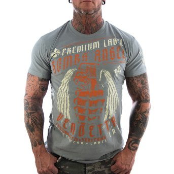 Vendetta Inc. Shirt Bomb Angel grey M