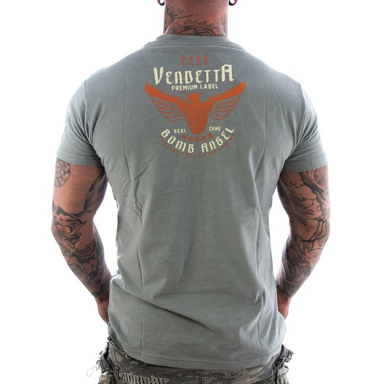 Vendetta Inc. Shirt Bomb Angel grau XL