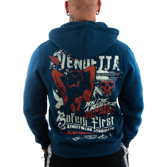 Vendetta Inc. Sweatjacke Safery First 4XL