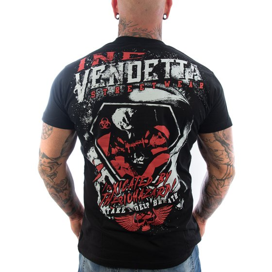 Vendetta Inc. Shirt Biohazard schwarz