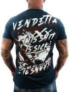 Vendetta Inc. Shirt To Snuff navy 4XL