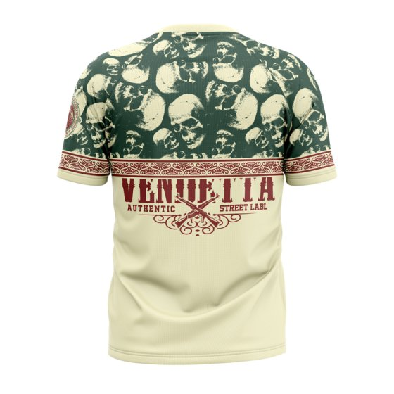 Vendetta Inc. Shirt Crime King gelb M