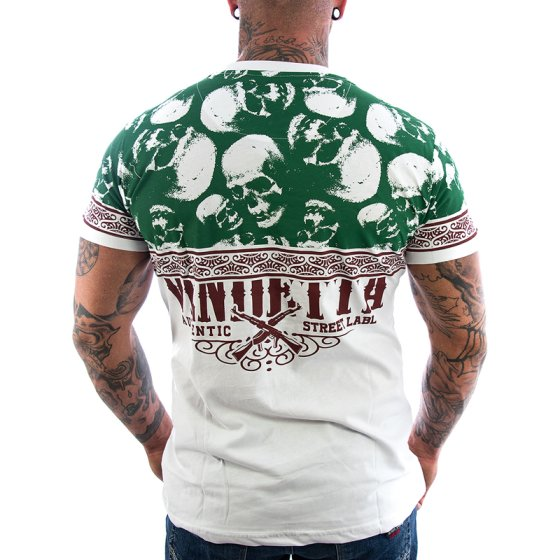 Vendetta Inc. Shirt Crime King weiß 3XL