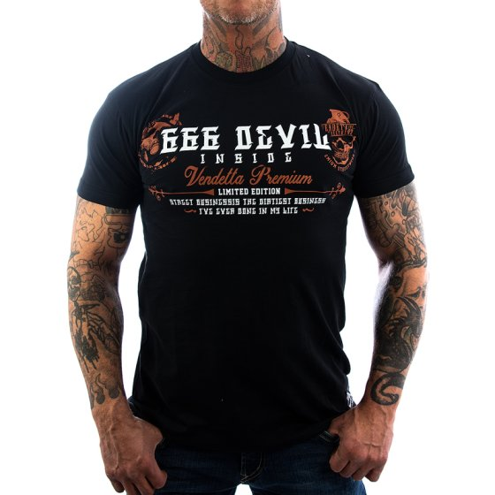 Vendetta Inc. Shirt 666 Devil schwarz 3XL