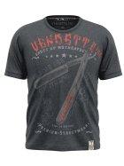 Vendetta Inc. Shirt Mother XXX grey - blue L