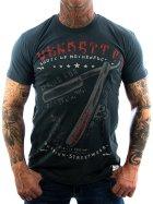 Vendetta Inc. Shirt Mother XXX grau - blau XXL