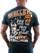 Vendetta Inc. Shirt Pain Killer grey 5XL