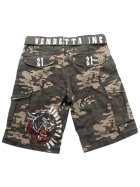 Vendetta Inc. Cargo Short Brother 21 camouflage W36
