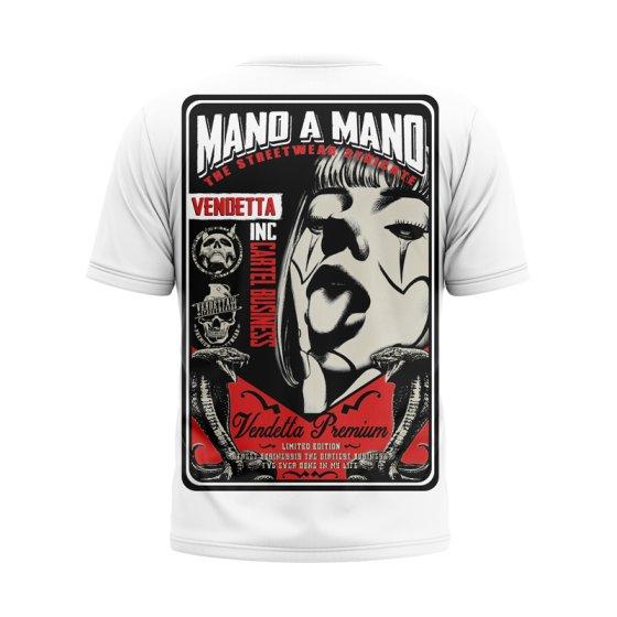 Vendetta Inc. Shirt Mano a Mano white