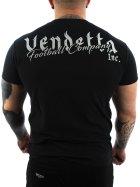 Vendetta Inc. Shirt Football black M