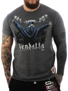Vendetta Inc. Shirt Football grey