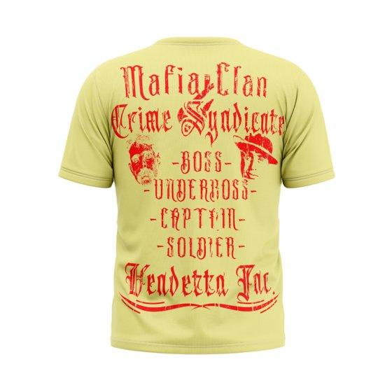 Vendetta Inc. Shirt Mafia Clan yellow
