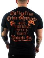 Vendetta Inc. Shirt Mafia Clan black M