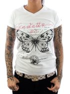 Vendetta Inc. Shirt Butterfly weiß L