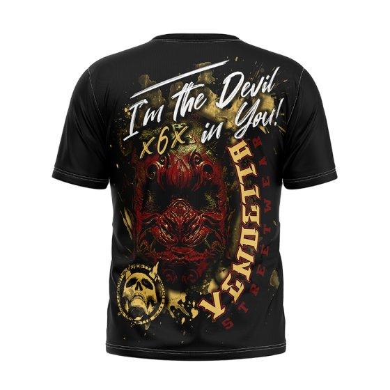 Vendetta Inc. Shirt Devil X6X black XL